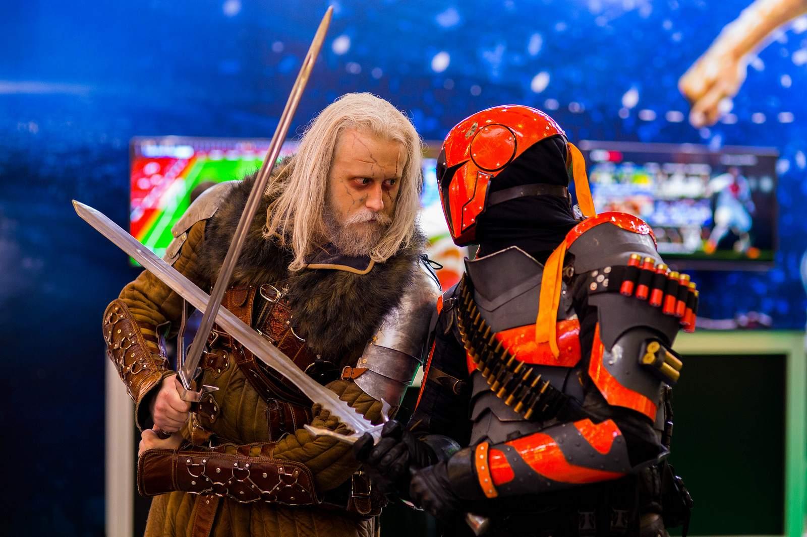 comiccon Comic Con Russia and IgroMir exhibition 2015