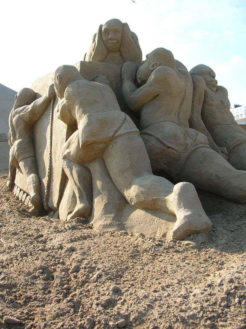sand art15 Creative Sand Art