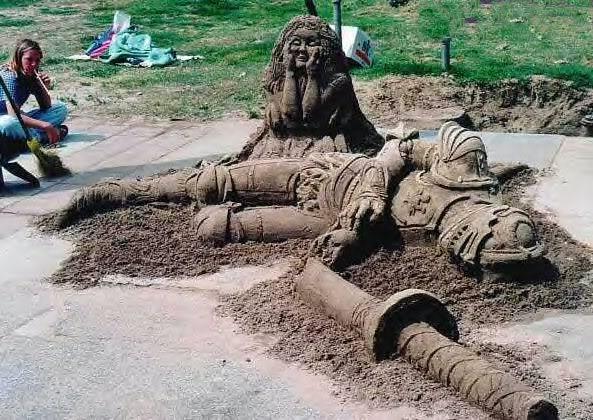 sand art3 Creative Sand Art