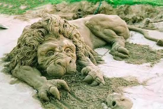 sand art4 Creative Sand Art