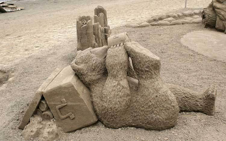sand art6 Creative Sand Art