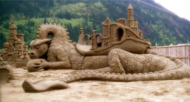 sand art8 Creative Sand Art
