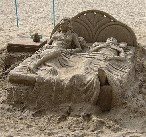sand art9 Creative Sand Art