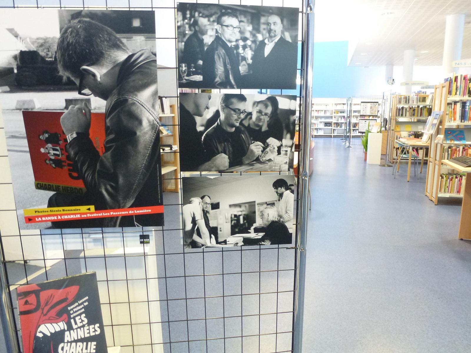 charlie hebdo exhibit1 Exhibition Charlie Hebdo at Quimperle