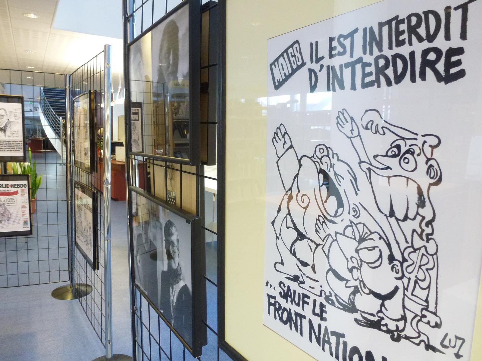 charlie hebdo exhibit10 Exhibition Charlie Hebdo at Quimperle