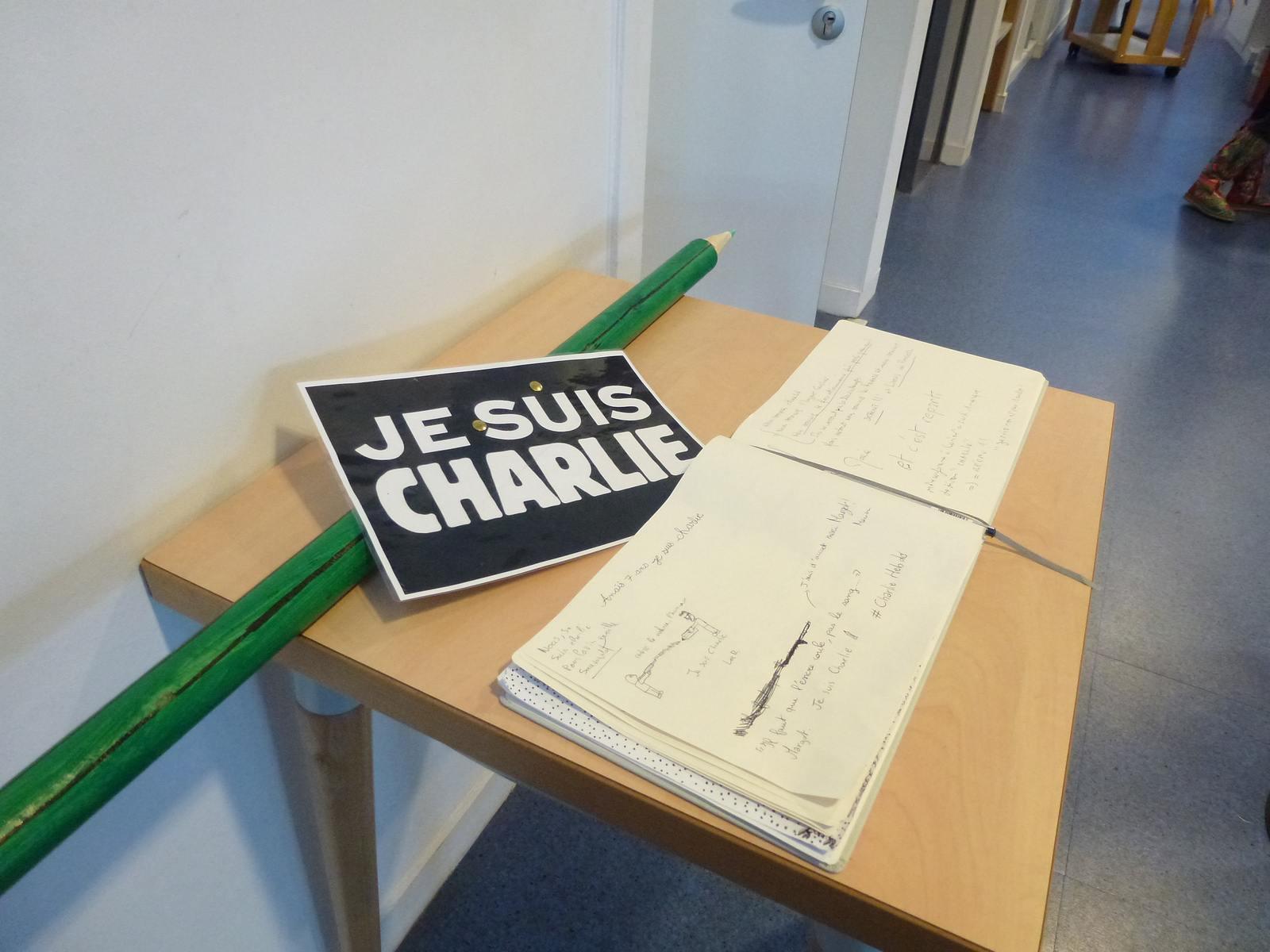 charlie hebdo exhibit2 Exhibition Charlie Hebdo at Quimperle