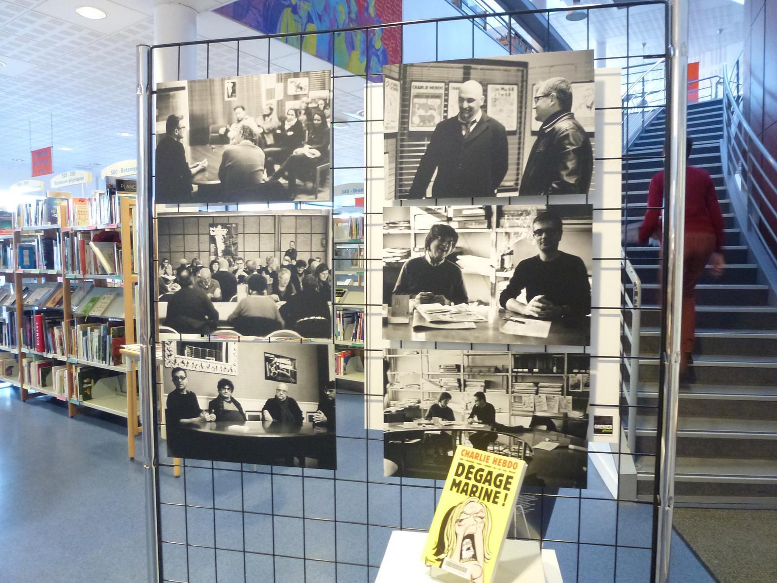 charlie hebdo exhibit3 Exhibition Charlie Hebdo at Quimperle