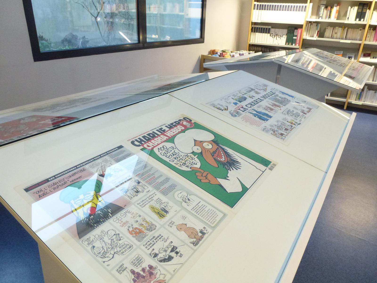 charlie hebdo exhibit6 Exhibition Charlie Hebdo at Quimperle
