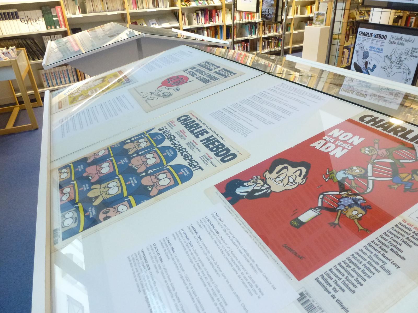 charlie hebdo exhibit7 Exhibition Charlie Hebdo at Quimperle
