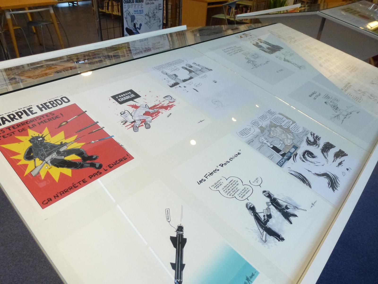 charlie hebdo exhibit8 Exhibition Charlie Hebdo at Quimperle