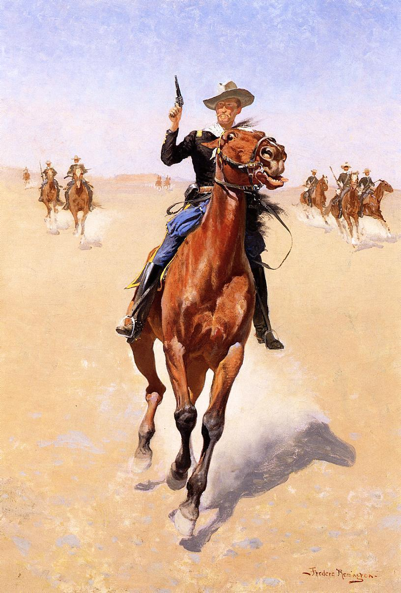 frederic remington13 Frederic Remington Paintings in Virtual Art Gallery ErgsArt