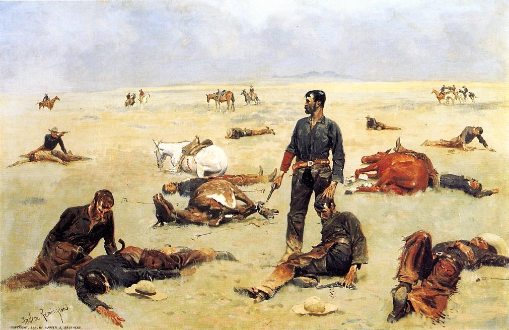 frederic remington14 Frederic Remington Paintings in Virtual Art Gallery ErgsArt