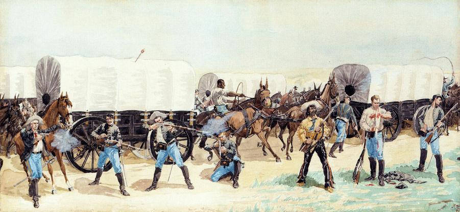 frederic remington4 Frederic Remington Paintings in Virtual Art Gallery ErgsArt