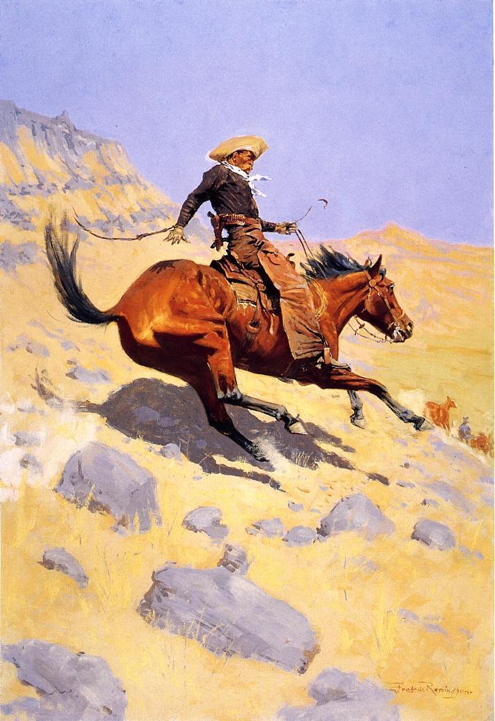 frederic remington8 Frederic Remington Paintings in Virtual Art Gallery ErgsArt