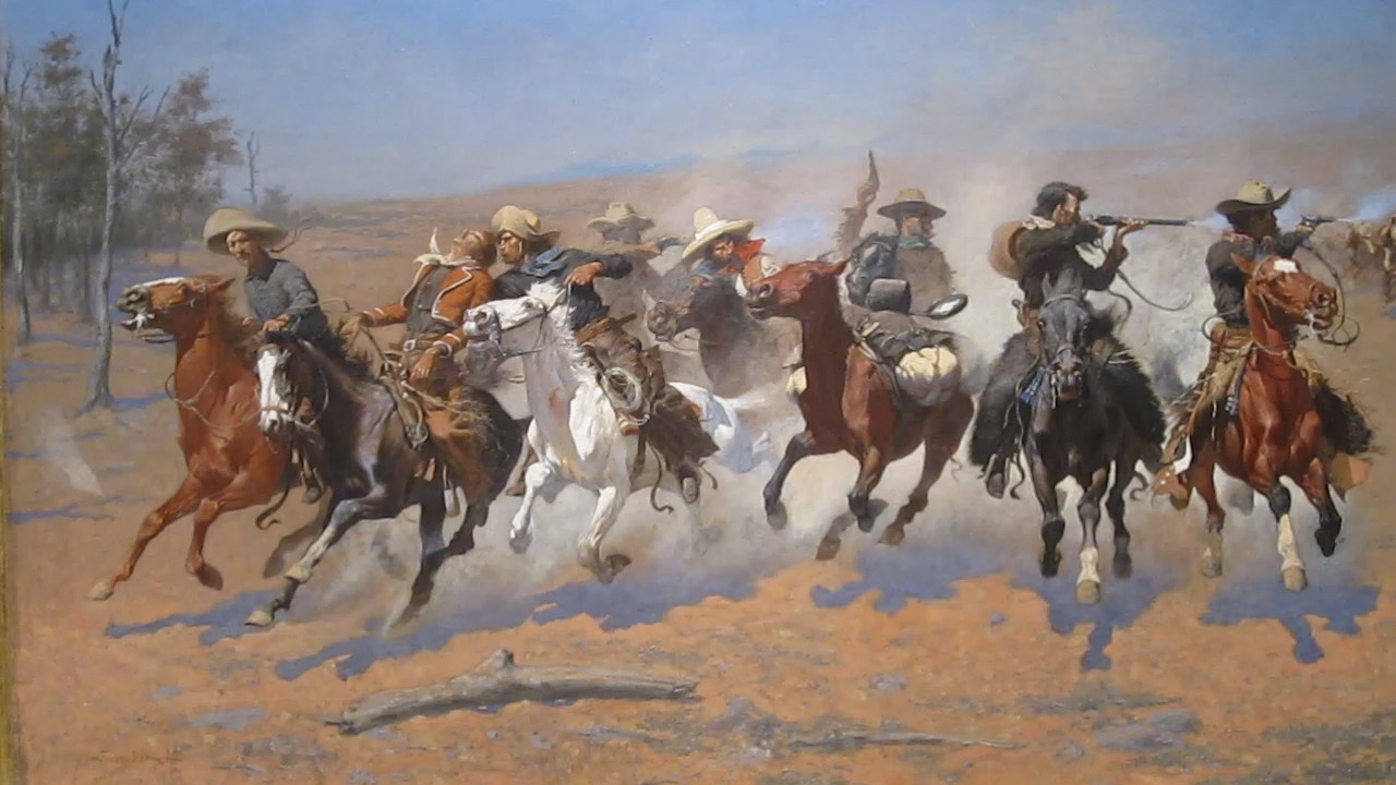 frederic remington9 Frederic Remington Paintings in Virtual Art Gallery ErgsArt