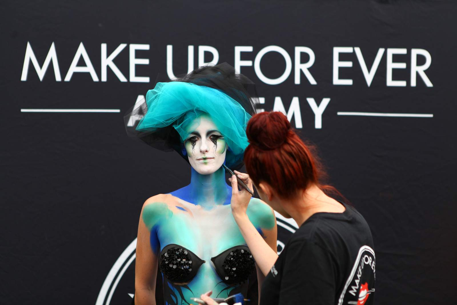 make up The International Make Up Artist Trade Show 2014, Vancouver