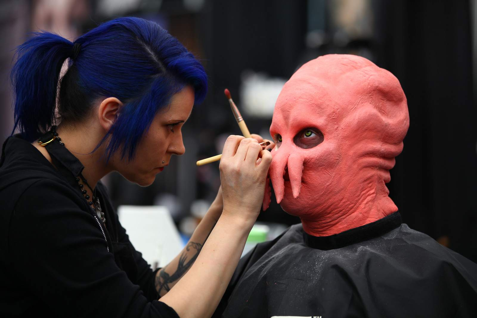 make up4 The International Make Up Artist Trade Show 2014, Vancouver
