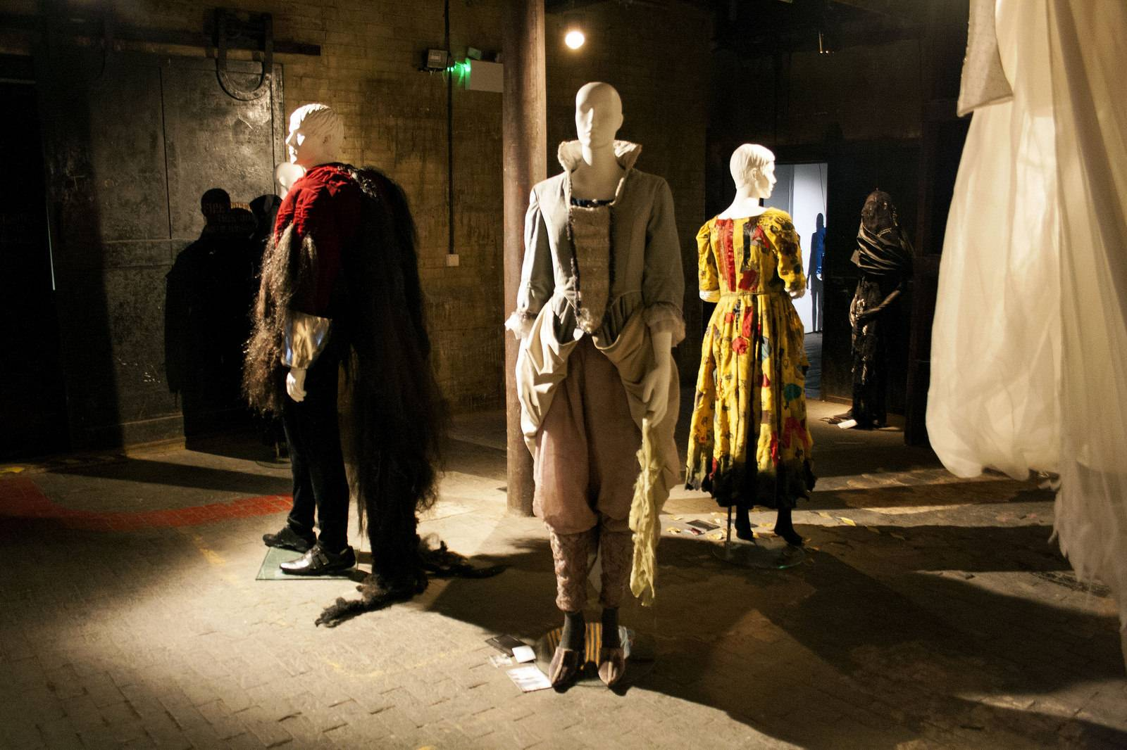 lcf9 London College of Fashion Exhibition 2015