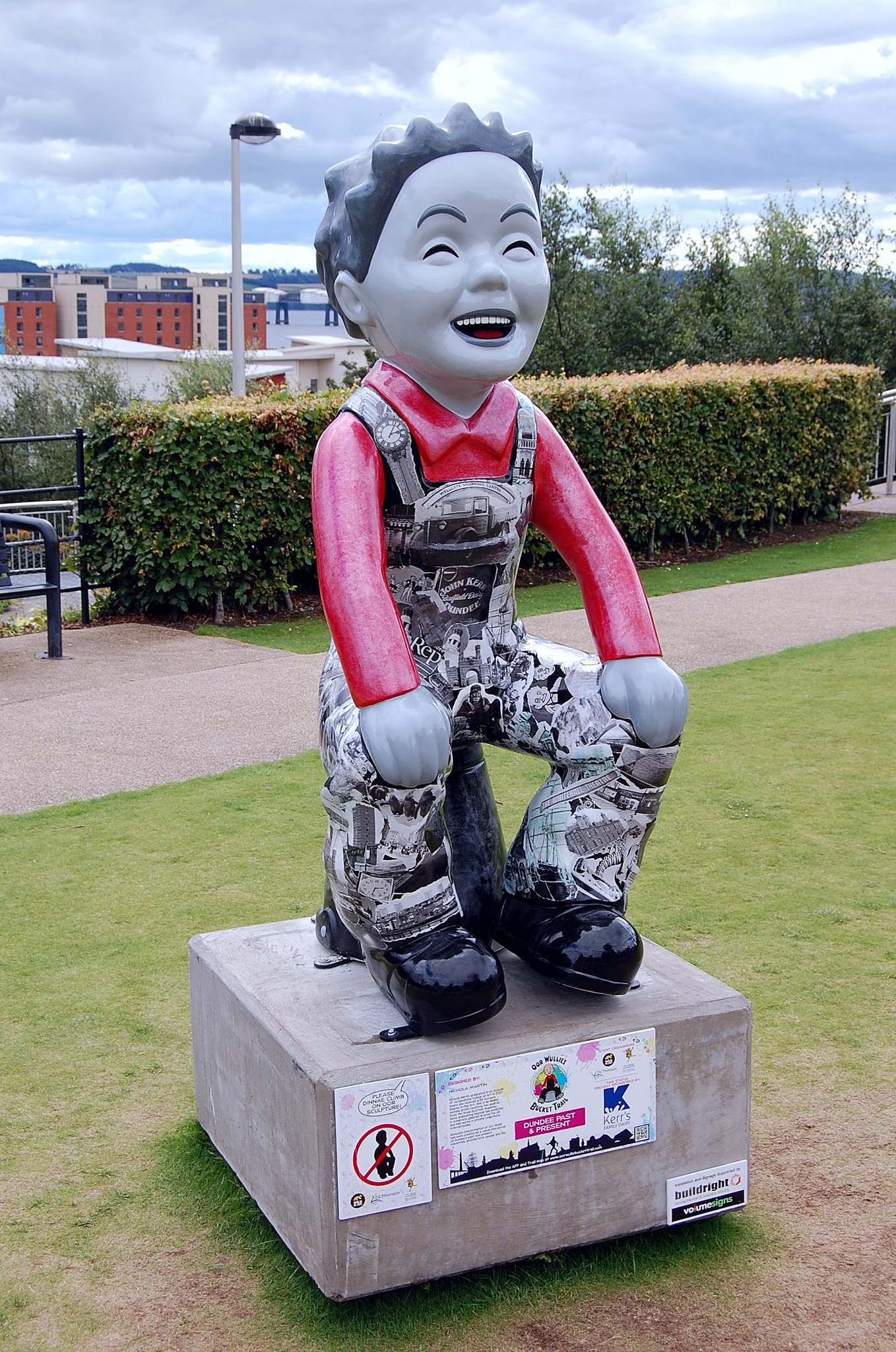 wullie9 Oor Wullie Bucket Trail in City of Dundee