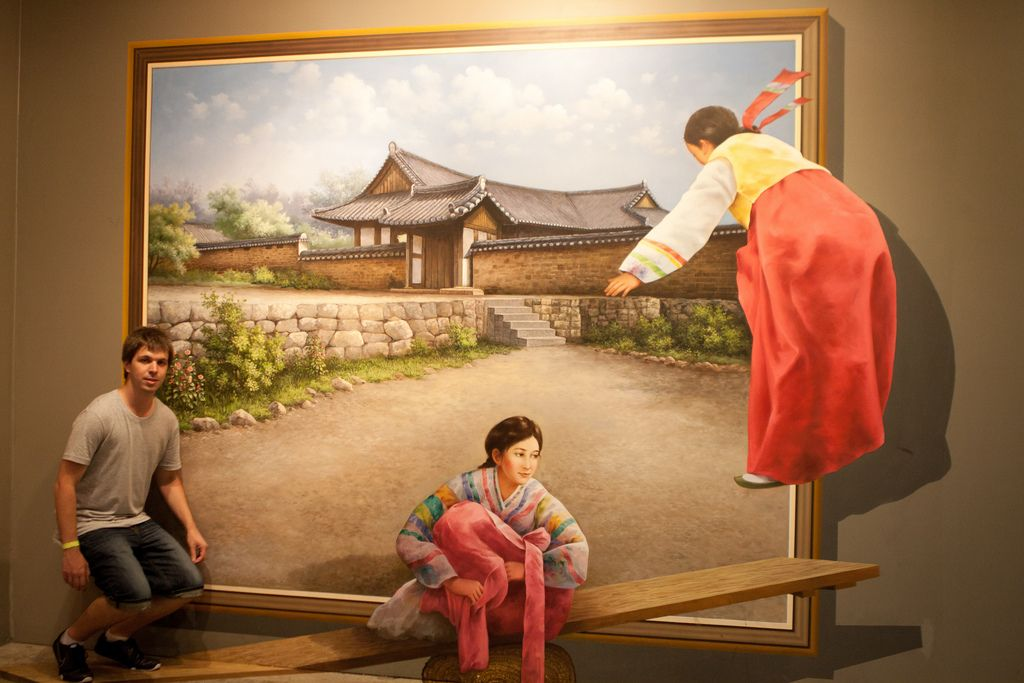 trick eye museum13 Optical Illusions in Trick Eye Museum, Seoul