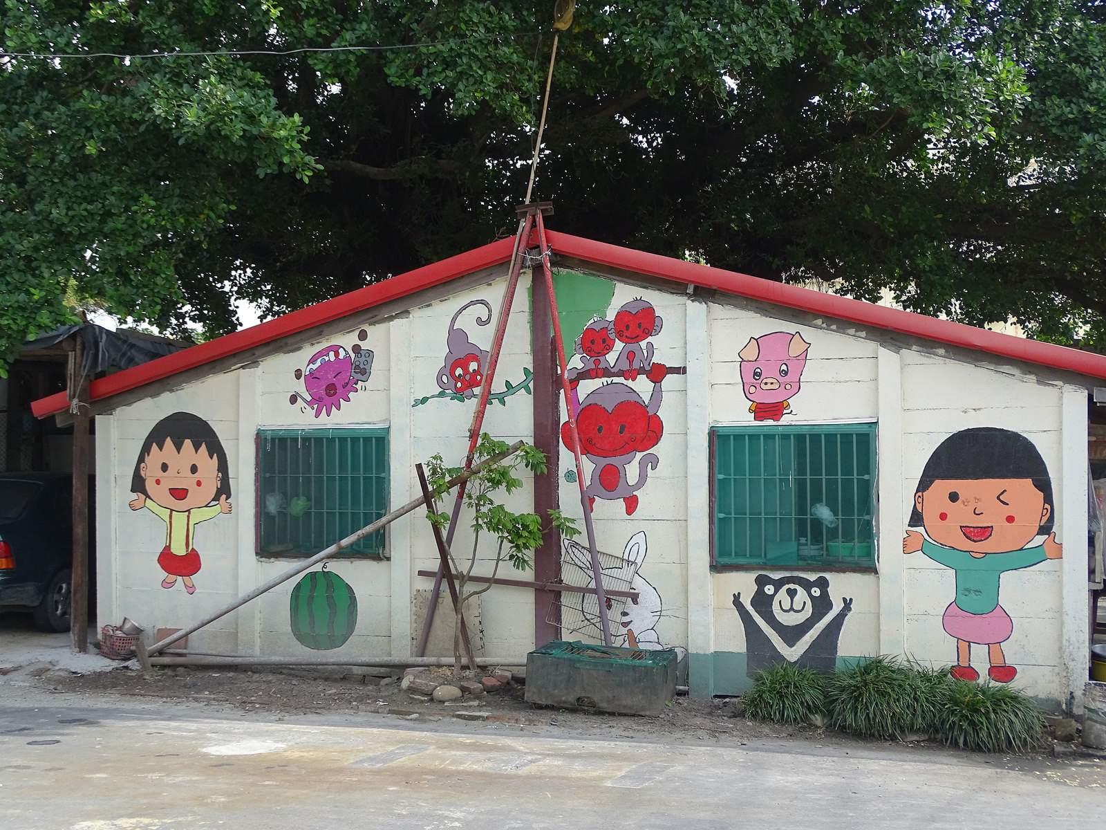 painted village12 Painted Fubao Village in Changhua