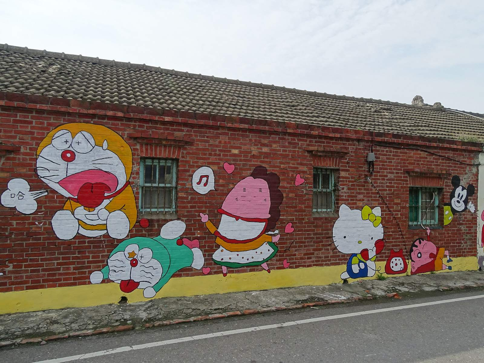 painted village14 Painted Fubao Village in Changhua