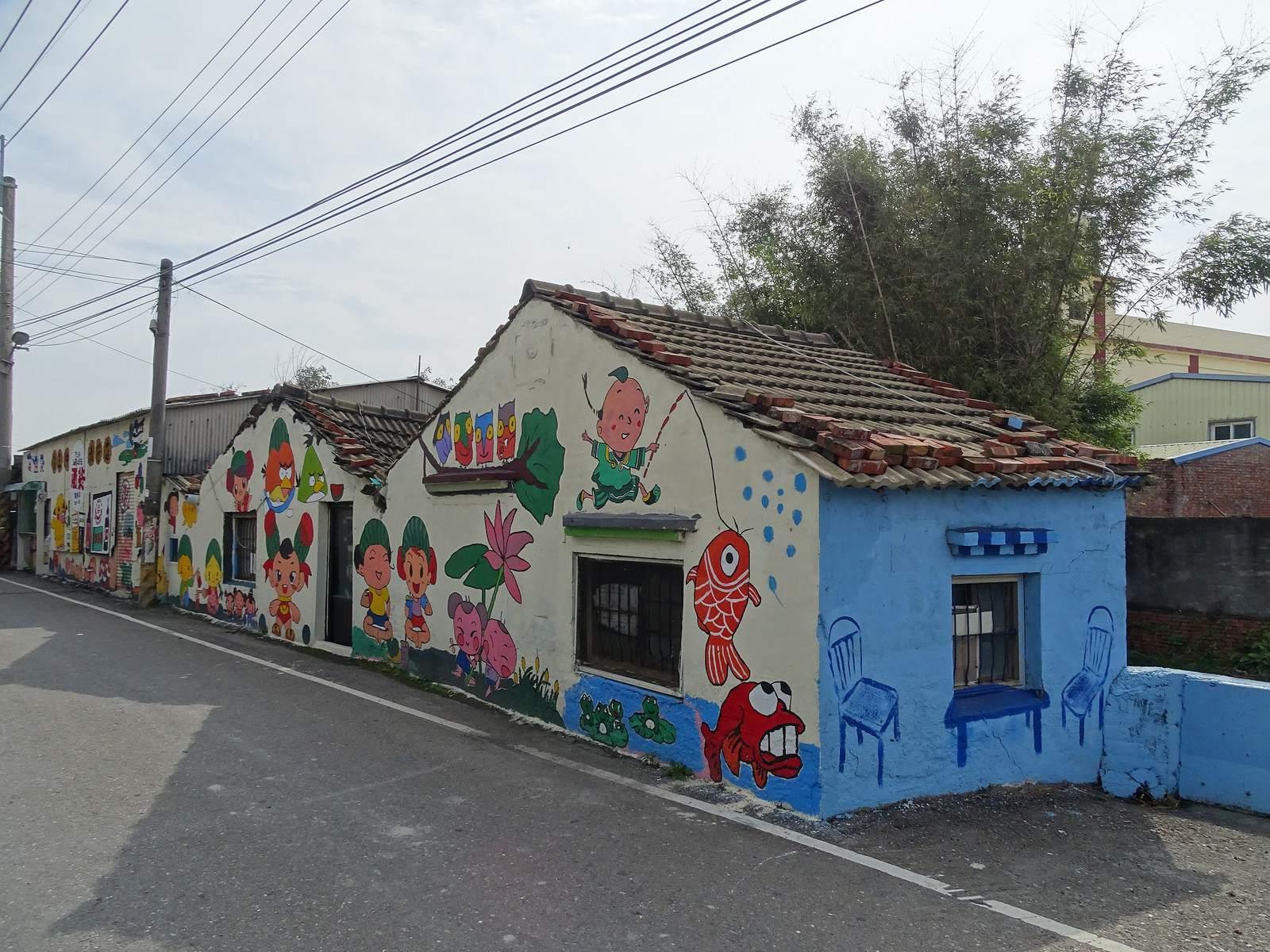 painted village18 Painted Fubao Village in Changhua