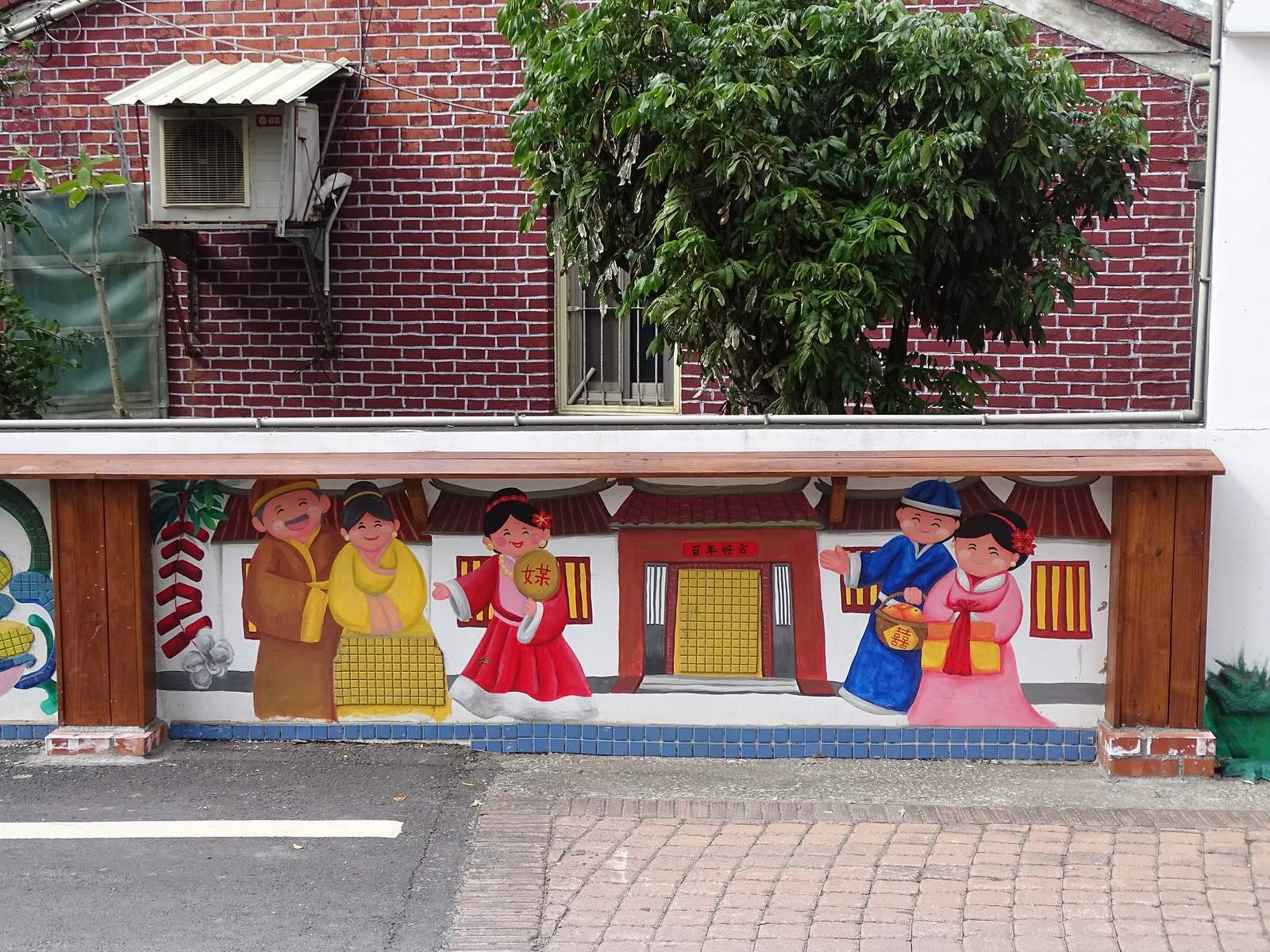 painted village19 Painted Fubao Village in Changhua