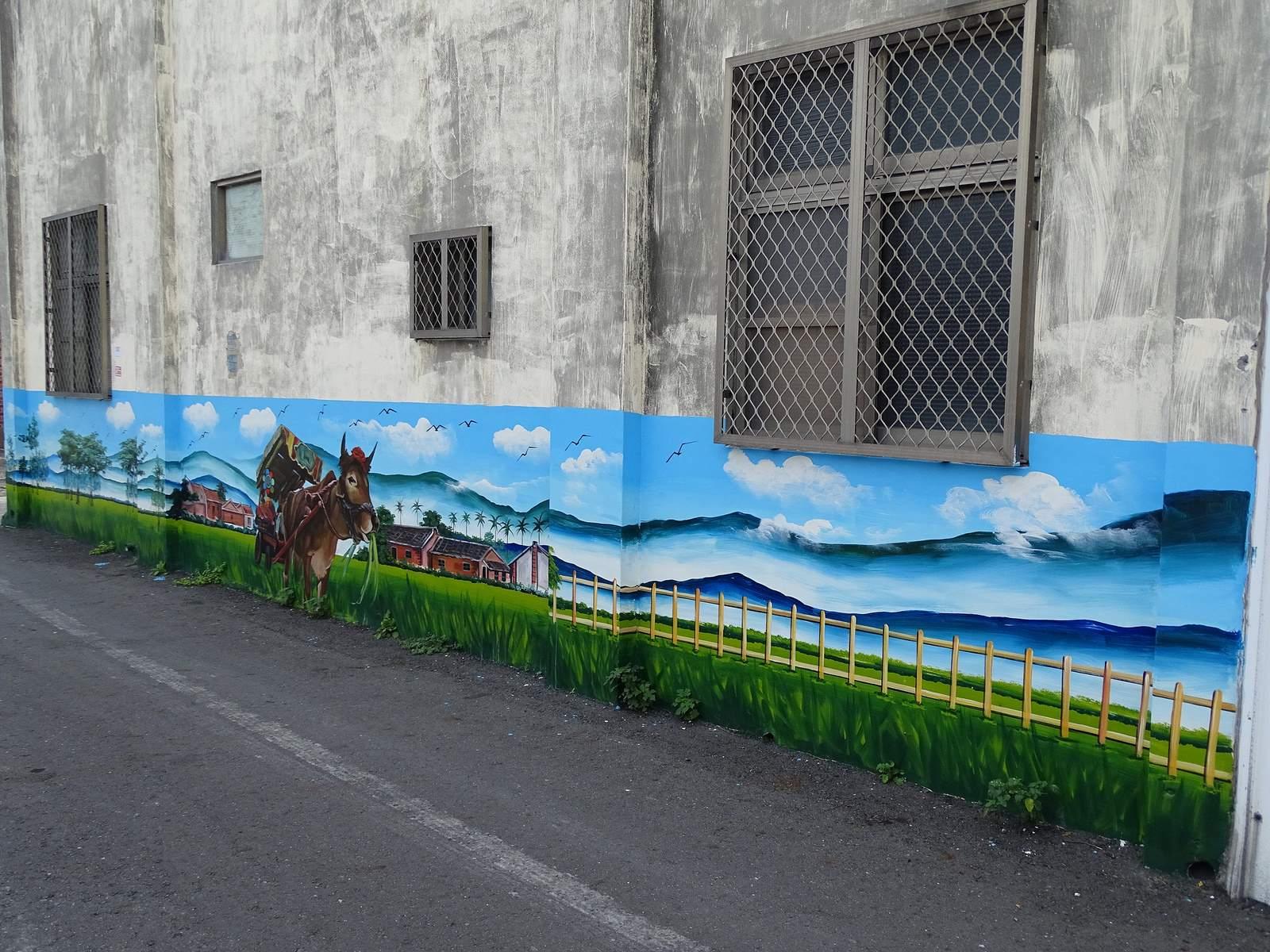 painted village20 Painted Fubao Village in Changhua