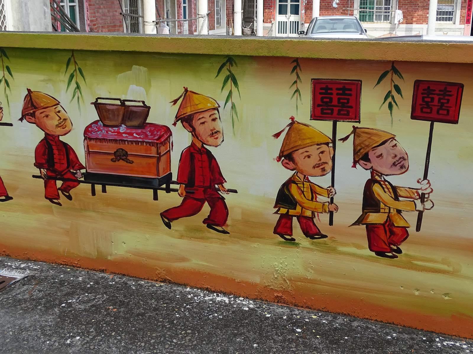 painted village21 Painted Fubao Village in Changhua
