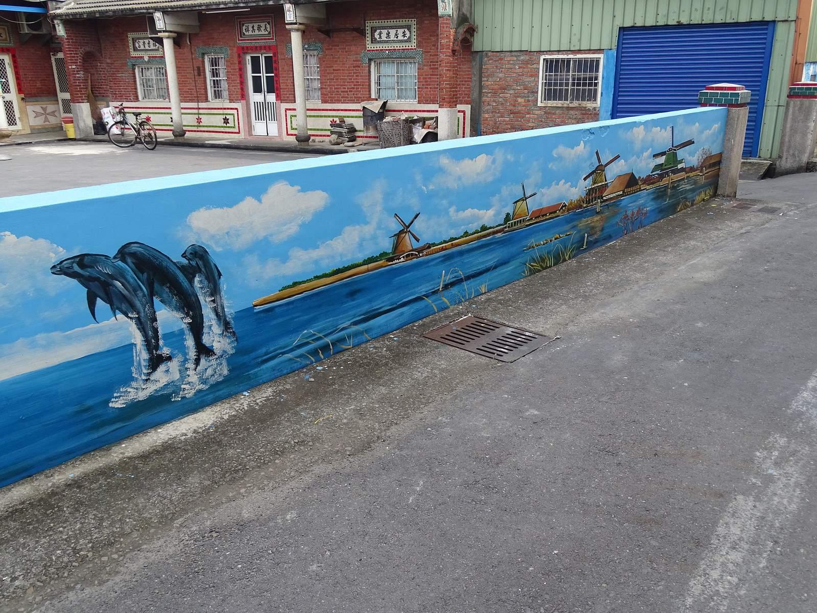 painted village23 Painted Fubao Village in Changhua