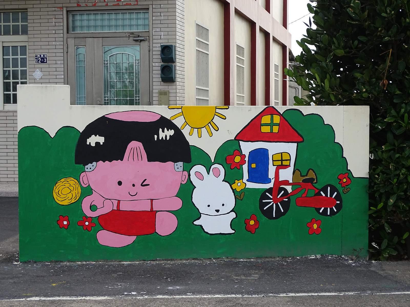 painted village24 Painted Fubao Village in Changhua