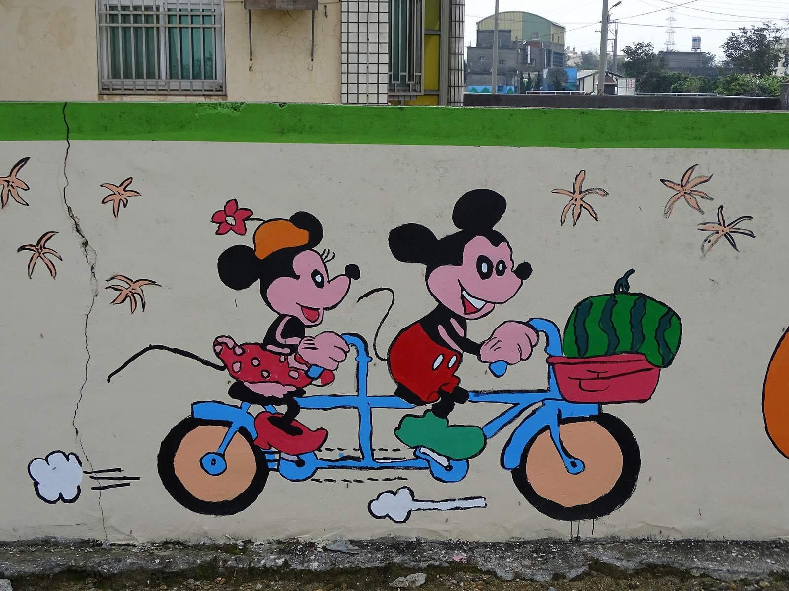 painted village3 Painted Fubao Village in Changhua