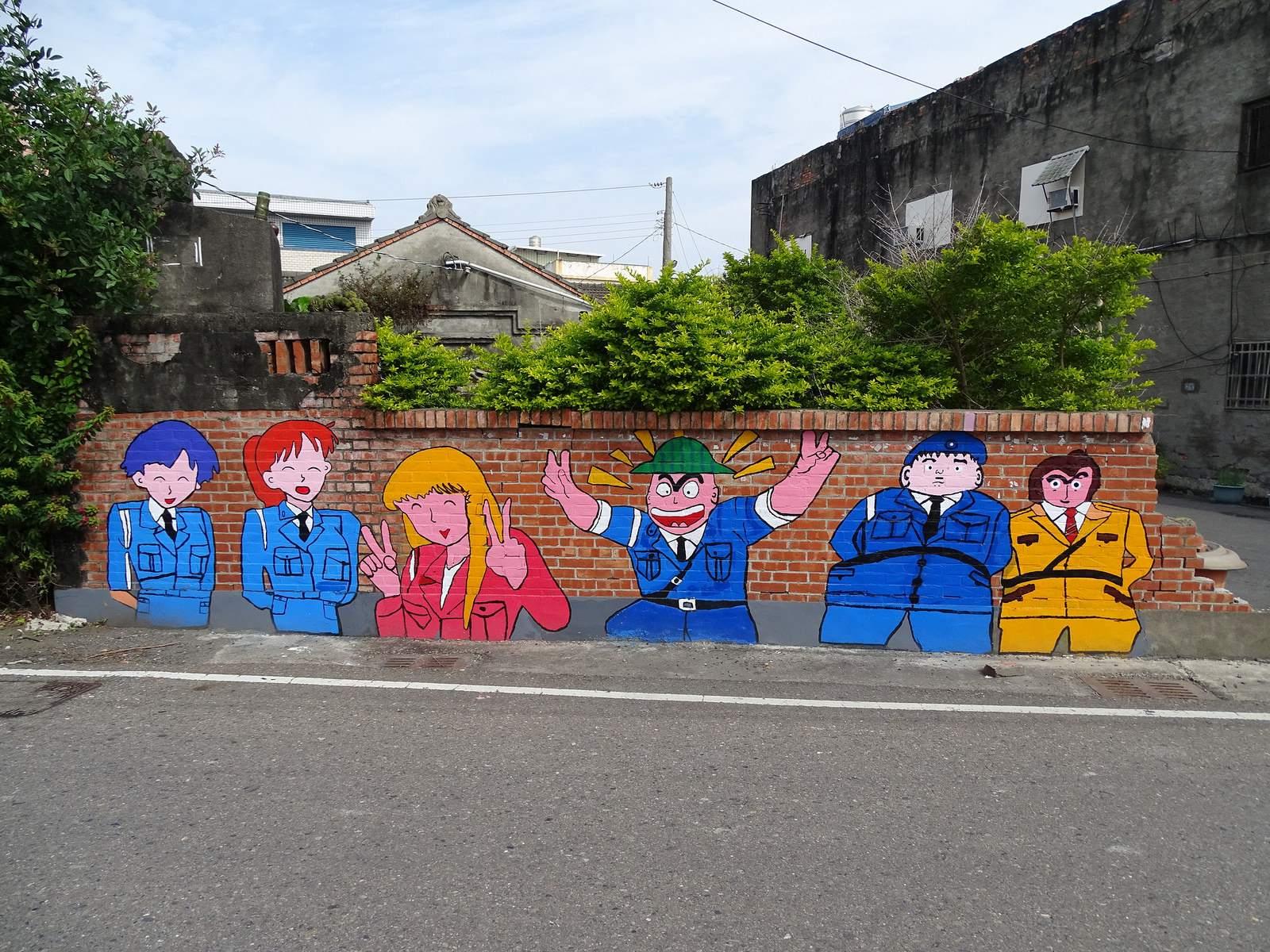 painted village5 Painted Fubao Village in Changhua