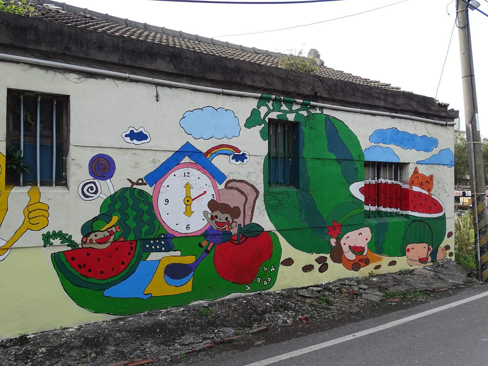 painted village6 Painted Fubao Village in Changhua
