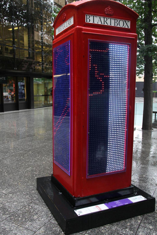 phone boxes15 Red telephone Boxes aka Street Art