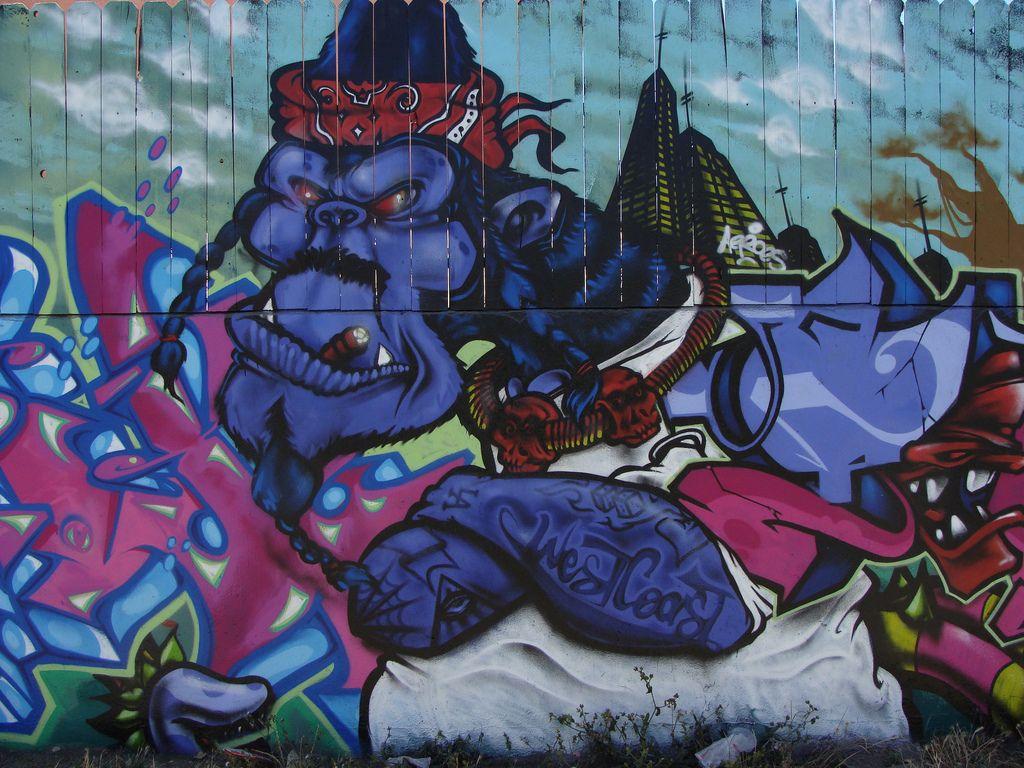 graffiti art20 Street Art and Graffiti in Los Angeles