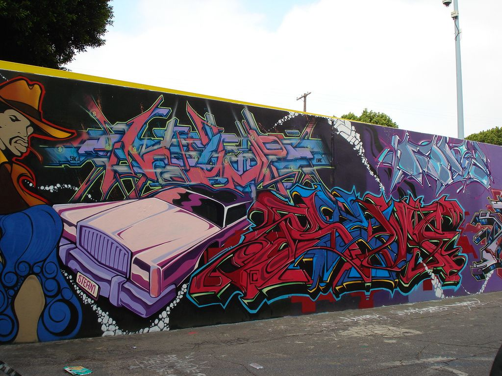 Street Art And Graffiti In Los Angeles