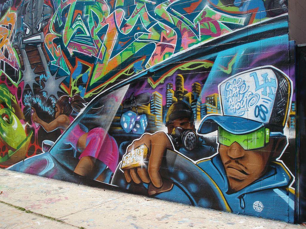 Street Art And Graffiti In Los Angeles
