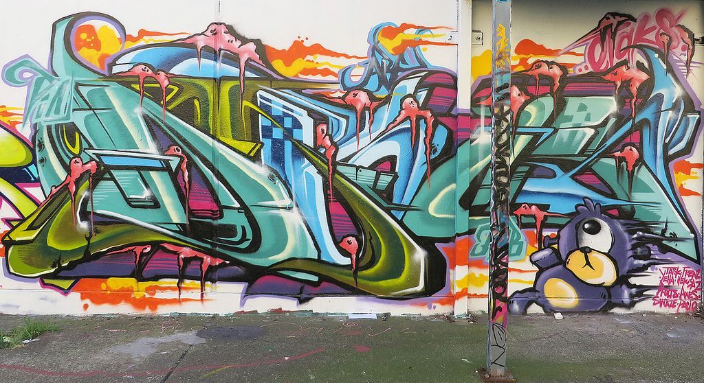 sydney graffiti Sydney Steel Road Graffiti