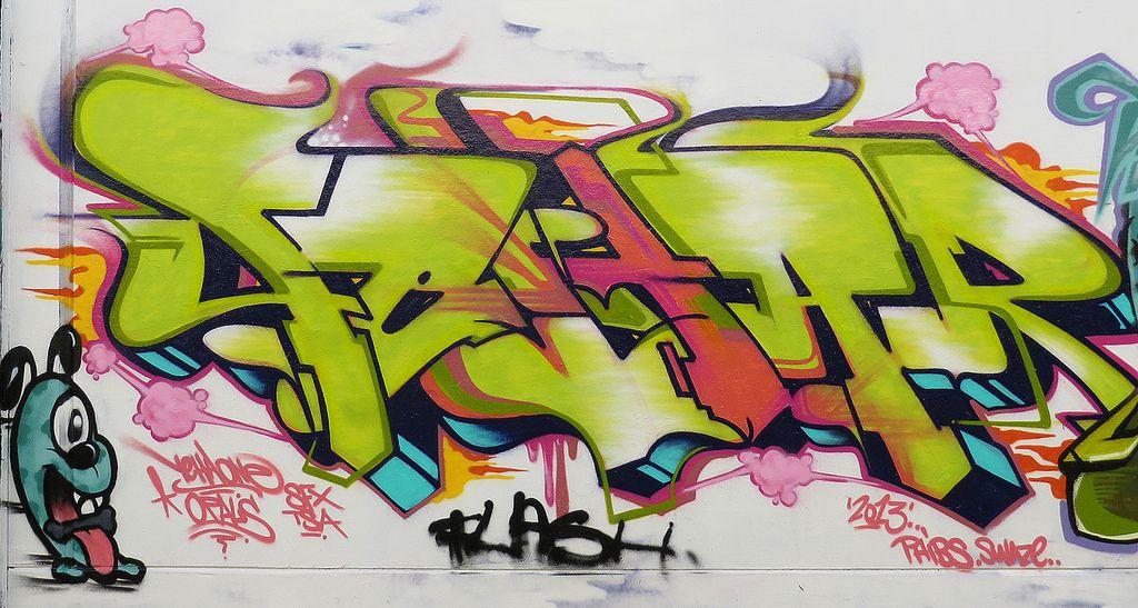 sydney graffiti1 Sydney Steel Road Graffiti