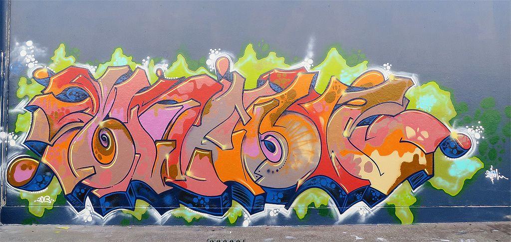sydney graffiti3 Sydney Steel Road Graffiti