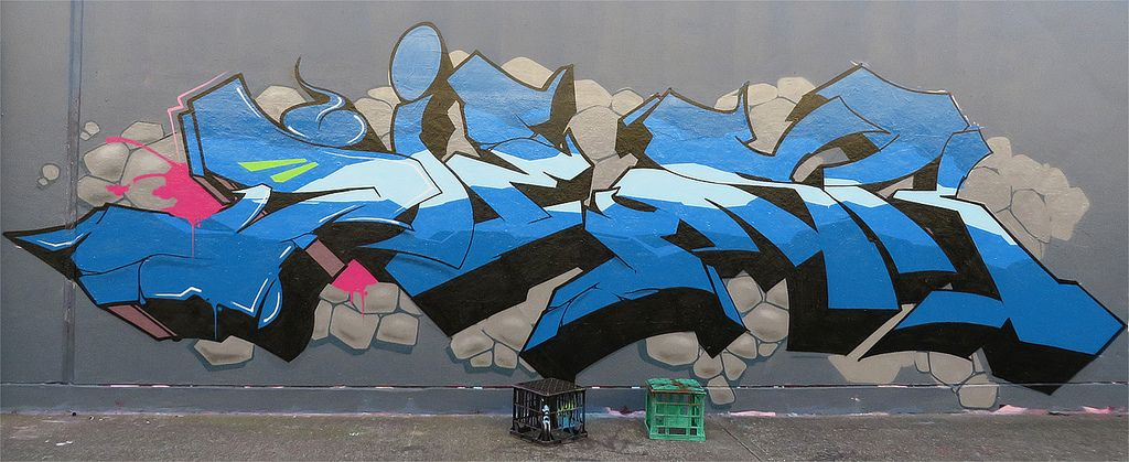 sydney graffiti4 Sydney Steel Road Graffiti