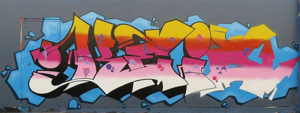 sydney graffiti5 Sydney Steel Road Graffiti