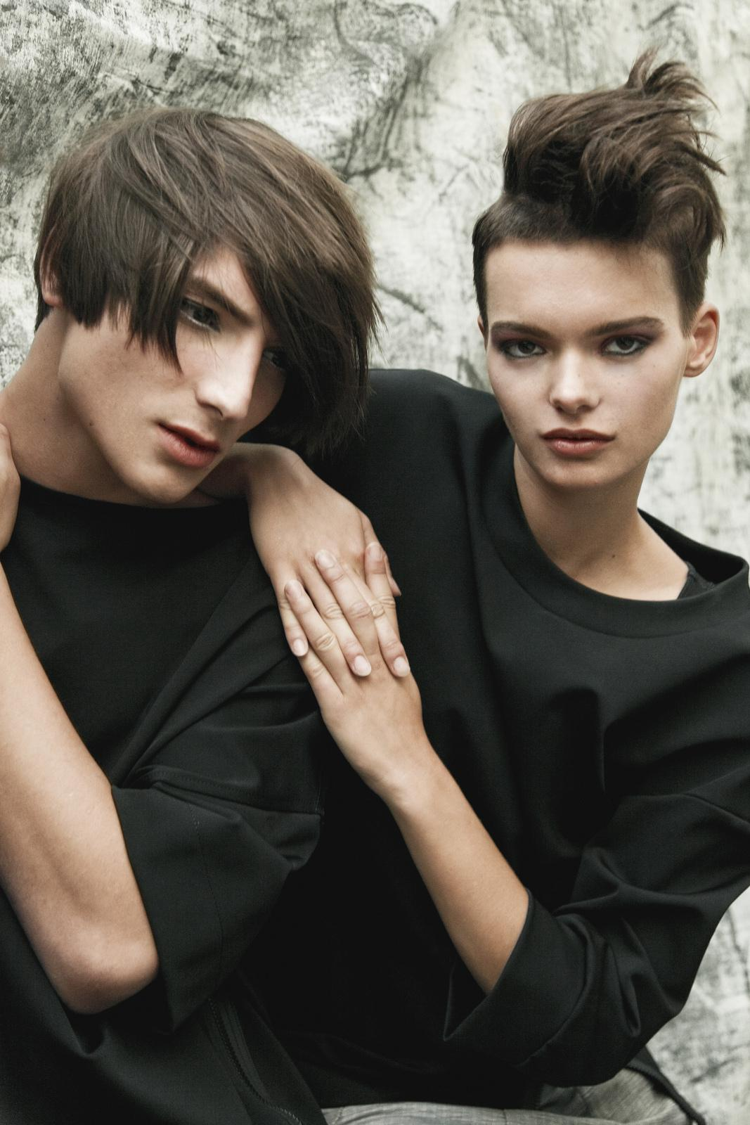 hair styling11 UNISEX Collection 2015 by mad ACADEMY