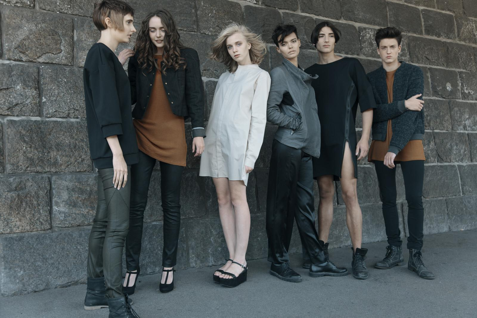 hair styling15 UNISEX Collection 2015 by mad ACADEMY