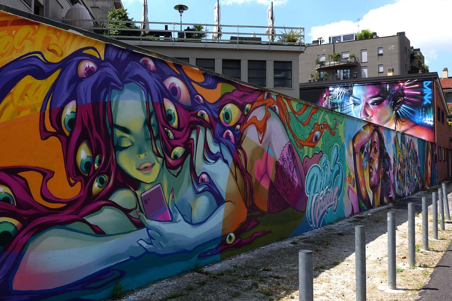 graffiti4 Zuartday 2018 at Vicolo del Fontanile