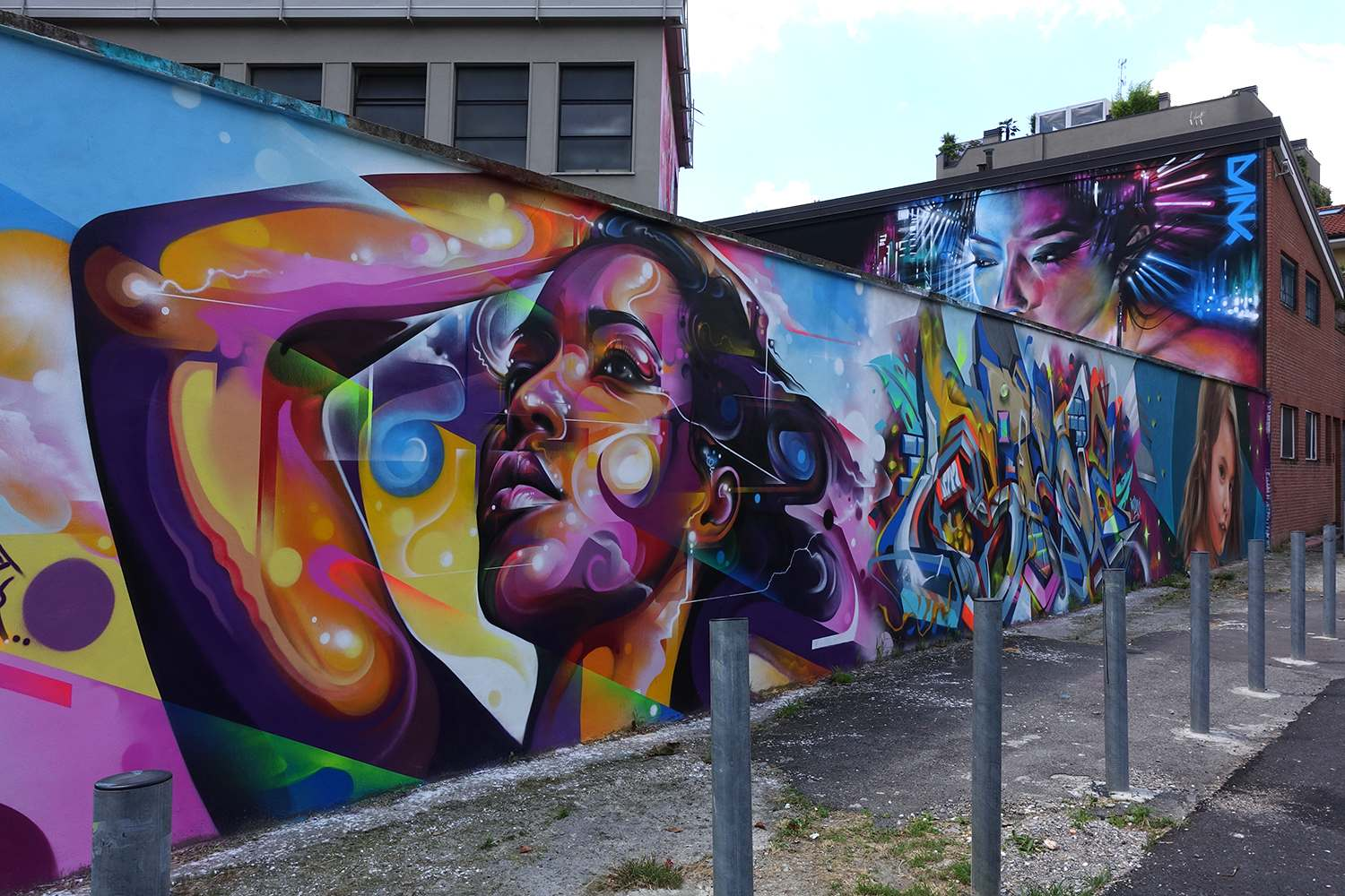 graffiti6 Zuartday 2018 at Vicolo del Fontanile