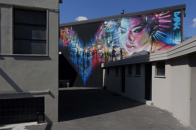 graffiti8 Zuartday 2018 at Vicolo del Fontanile