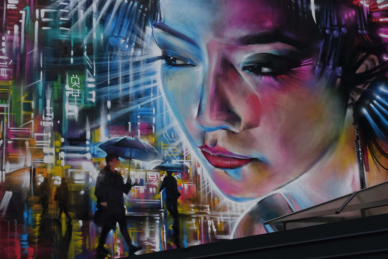 graffiti9 Zuartday 2018 at Vicolo del Fontanile